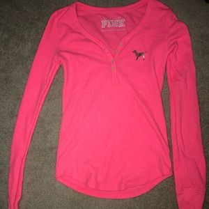 VS PINK TOP! SIZE SMALL